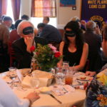 Blindfolded diners